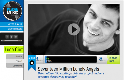 Luca Ciut debut album piano Seventeen Million Lonely Angels Daniel Auber Henrik Astrom