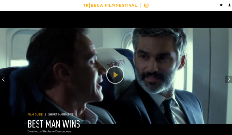 Best Man Wins Stephane Dumoneau Luca Ciut soundtrack Tribeca